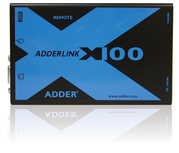 ADDER X100A-PS2/P USB/PKVM延长器